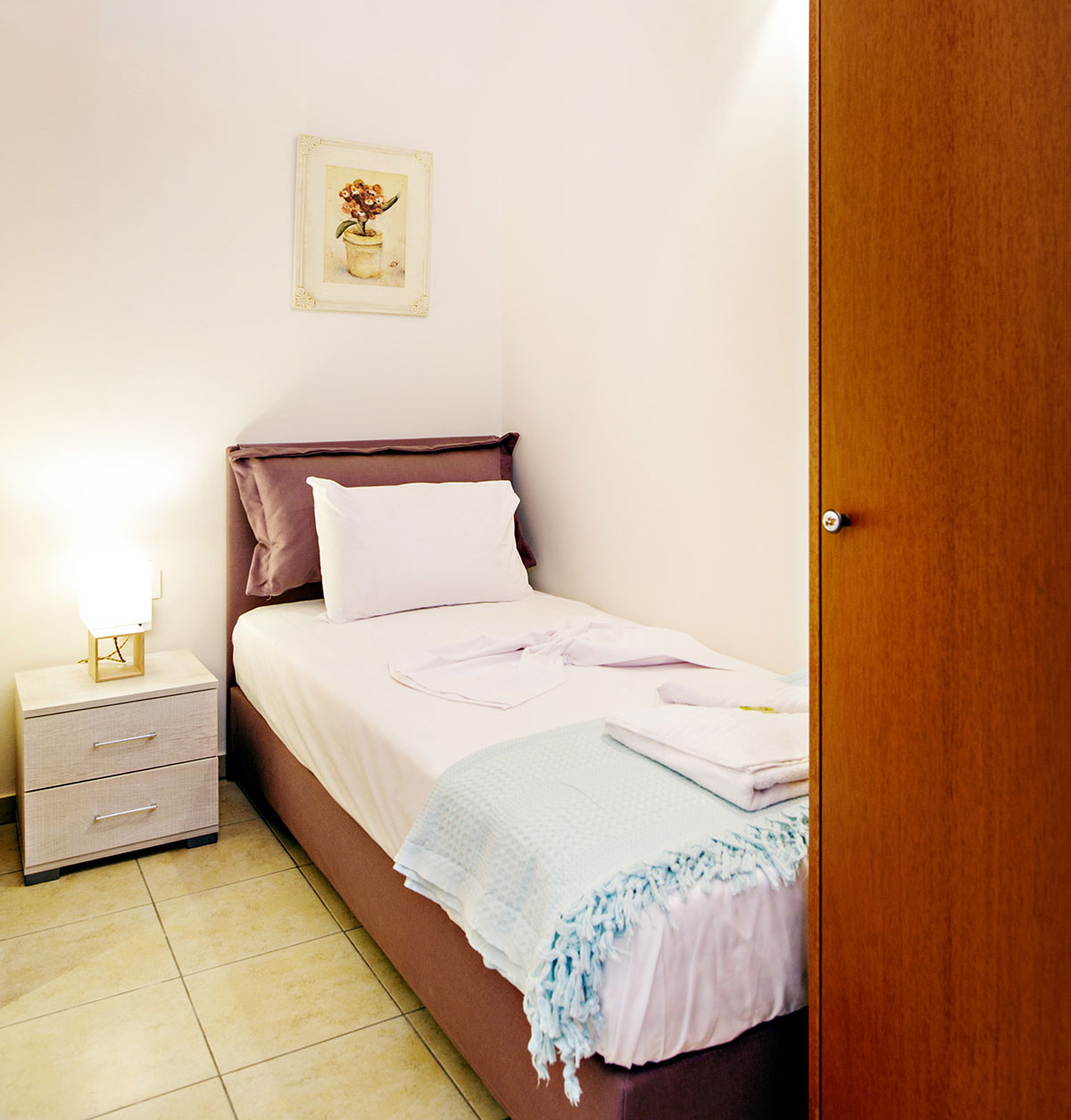 Odyssey Studios and Odyssey House Chania - Hermes Studio bedroom