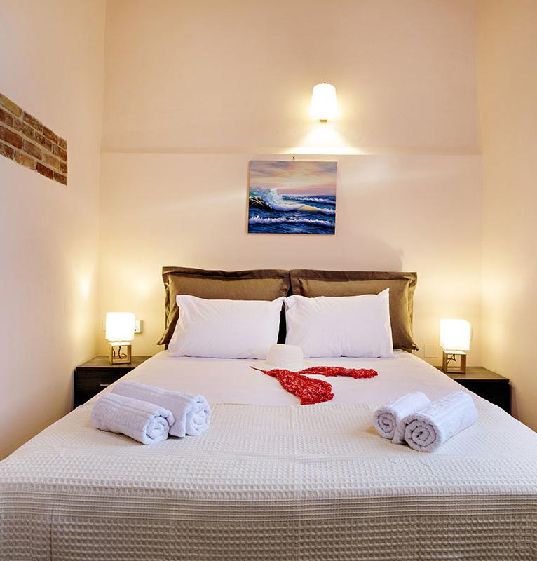 Odyssey Studios and Odyssey House Chania - Kalypso Studio bedroom