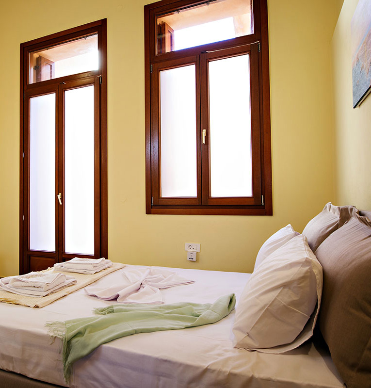 Odyssey Studios and Odyssey House Chania - Zeus Studio bedroom